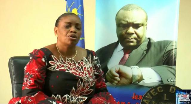 RDC: Eve Bazaiba fixe l'opinion sur la question de l'exil de Bemba !